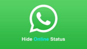 Cara Menyembunyikan Status Online WhatsApp Tanpa Ribet Terbaru 2018