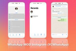 WhatsApp MOD Instagram APK Versi Terbaru 2018