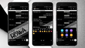 Download MOD WhatsApp Tema Black APK Versi Terbaru 2018