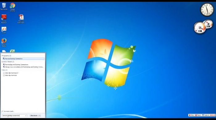 B. Setting VPS pada Windows 7
