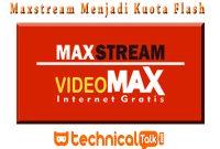 Cara Mengubah Kuota Maxstream Menjadi Kuota Flash TERBUKTI 100%