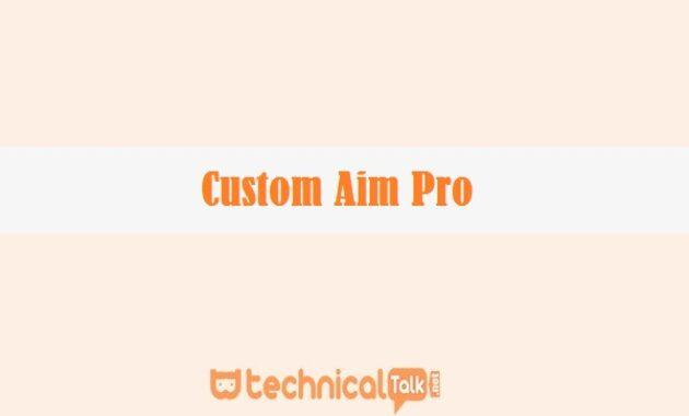 Custom Aim Pro