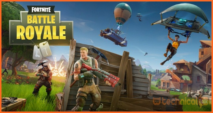 Fornite Battle Royale Mod