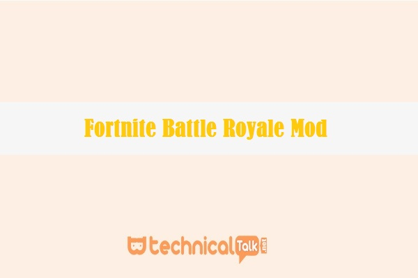 Fortnite Battle Royale Mod