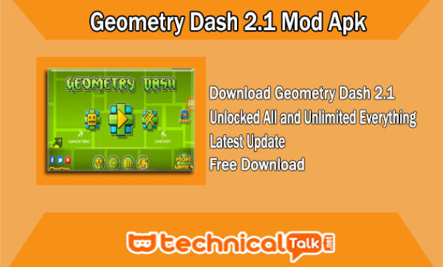 Geometry Dash 2.1 Mod Apk