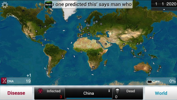 Game Plague Inc new version