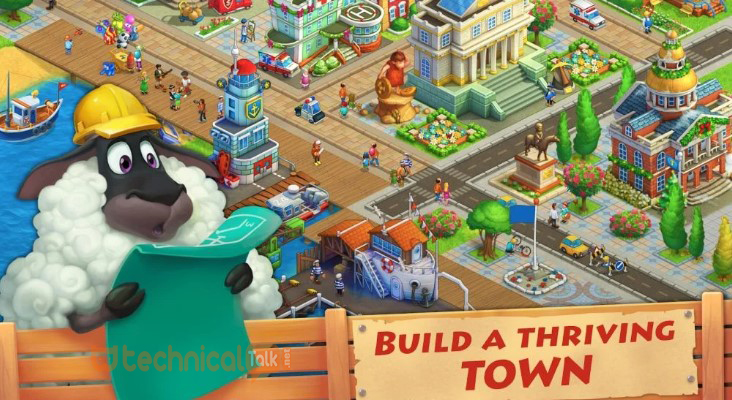 township mod apk max level