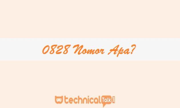 0828 Nomor Apa