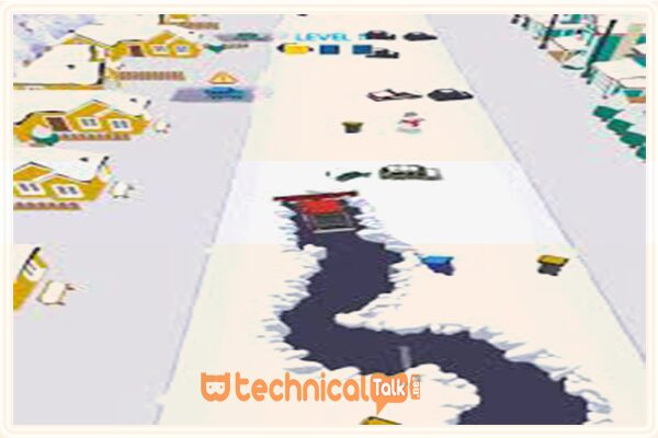 Fitur The Clean Road Mod Apk