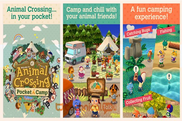 Gameplay Animal Crossing Pocket Camp