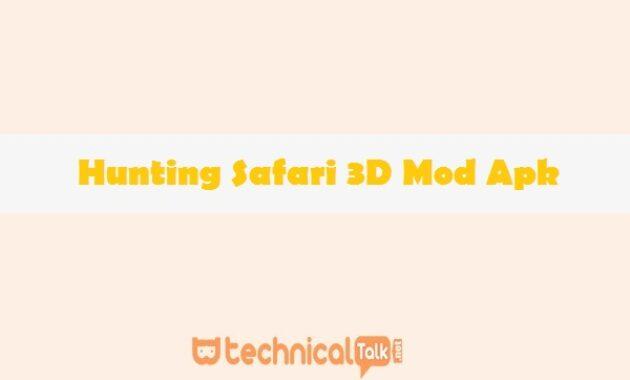 Hunting Safari 3D Mod Apk