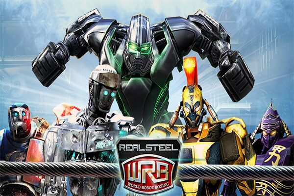 Karakter Real Steel World Robot Boxing