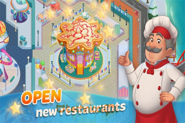 Design Restaurant Cooking Diary Mod