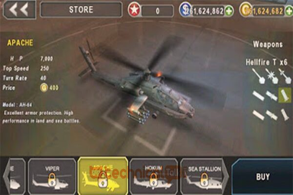 Gameplay Gunship Battle