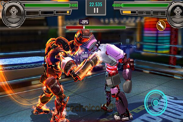 Gameplay Real Steel Boxing Champions Mod Apk