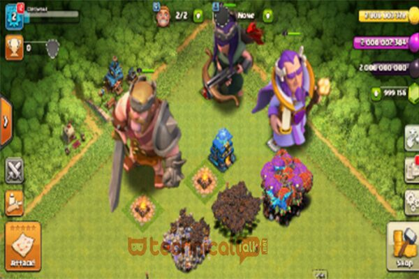 Grafik & Suara Clash of Clans Mod Apk