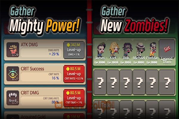 Level World Zombie Contest