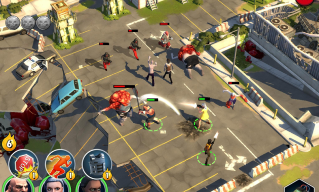 Perencanaan Dalam Game Zombie Anarchy