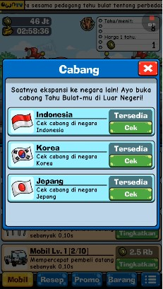 Download Game Tahu Bulat Mod Apk Unlimited Money Versi Terbaru