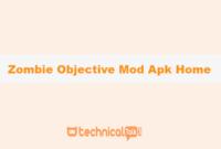 Zombie Objective Mod Apk Home