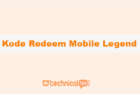 Kode Redeem Mobile Legend