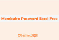 membuka password excel free
